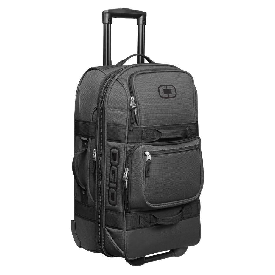 OGIO Layover Wheeled Travel Bag - Black Pindot