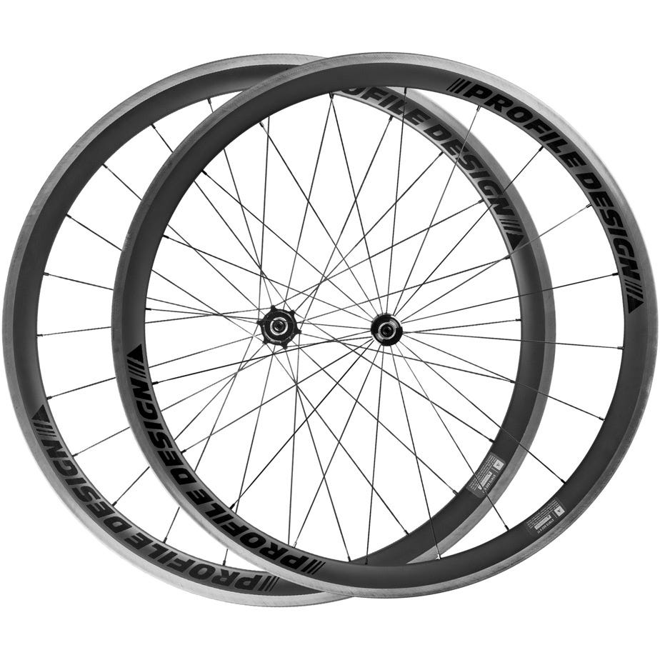 Profile Design 38 Twenty Four Full Carbon Clincher Wheelset