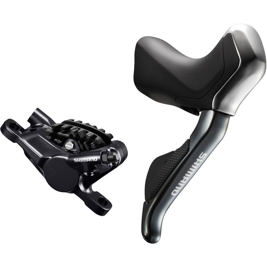 Shimano Non-Series Di2 ST-R785 hydraulic disc brake Di2 E-tube STI set, with RS785 callipers, pair