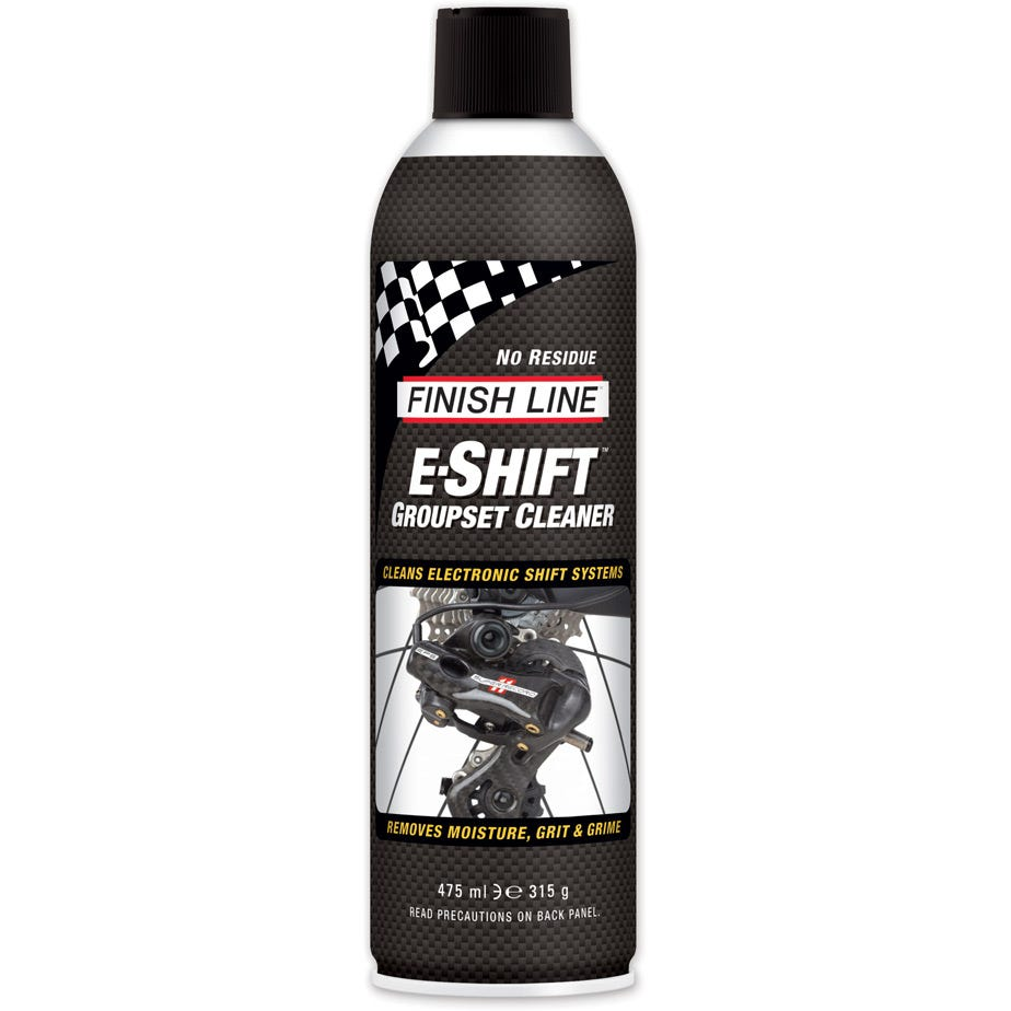 Finish Line E-Shift Groupset Cleaner, 16 oz aerosol (550 ml)