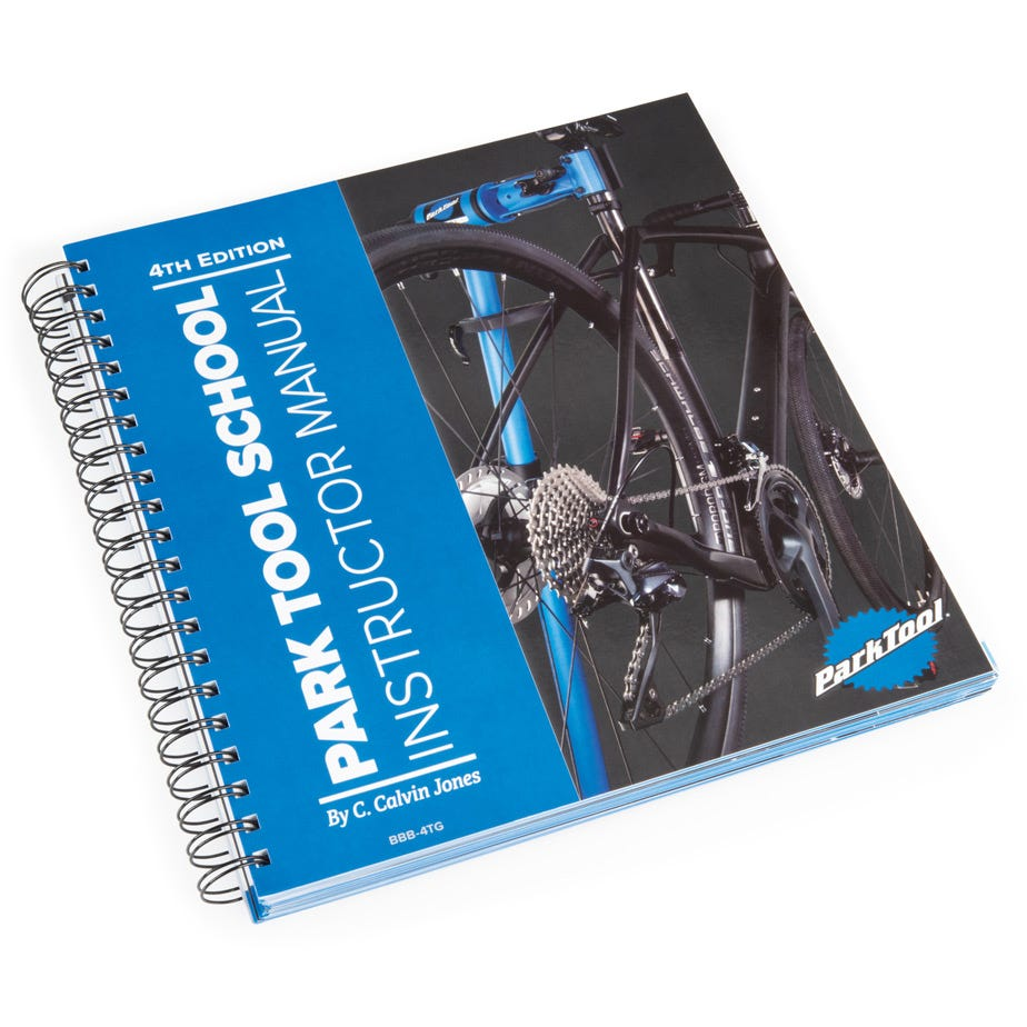 Park Tool BBB-4TG - Teachers guide for Big Blue Book of Bicycle repair