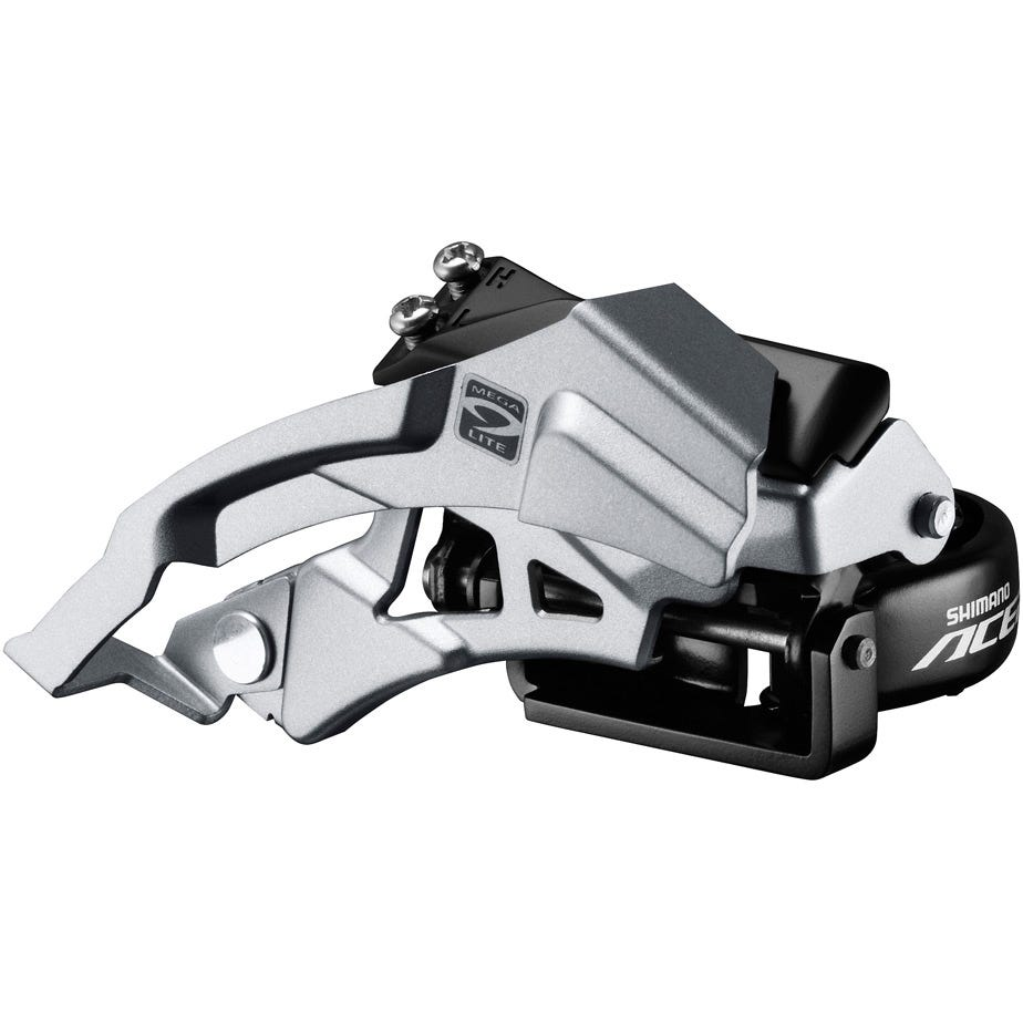 Shimano Acera Acera M3000 triple front derailleur top swing, dual-pull, 9-speed 66-69