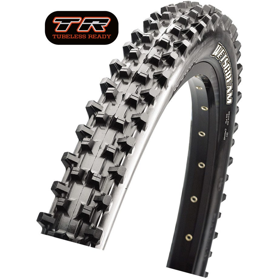 Maxxis WetScream DH 27.5 x 2.50 120 TPI Folding Super Tacky TR / DD tyre