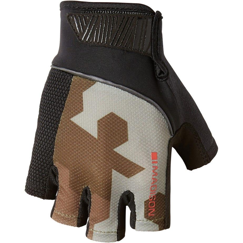 Madison Sportive men's mitts, hex camo