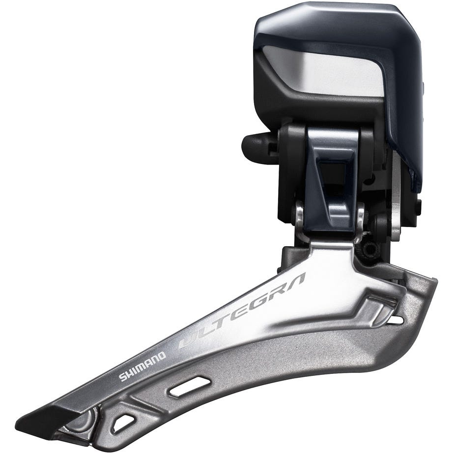 Shimano Ultegra FD-R8050 Ultegra Di2 11-speed front derailleur E-tube, braze on, double