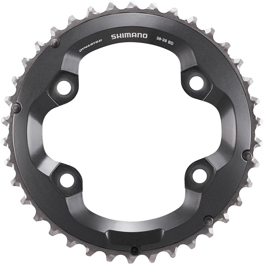 Shimano Spares FC-M8000 chainring 38T-BD for 38-28T