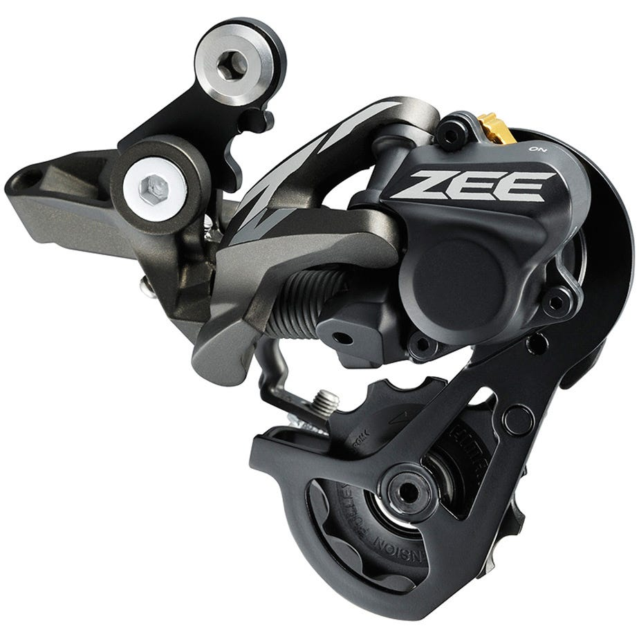 Shimano ZEE RD-M640 ZEE 10-speed Shadow+ design rear derailleur, SS 32-36T