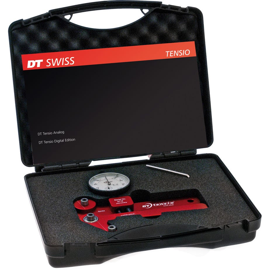 DT Swiss Proline analogue tensiometer red