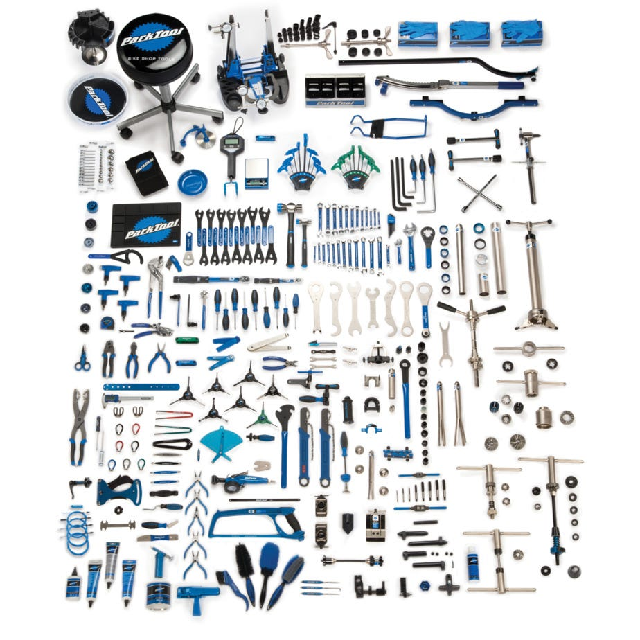 Park Tool MK-278 - Master Mechanic tool set