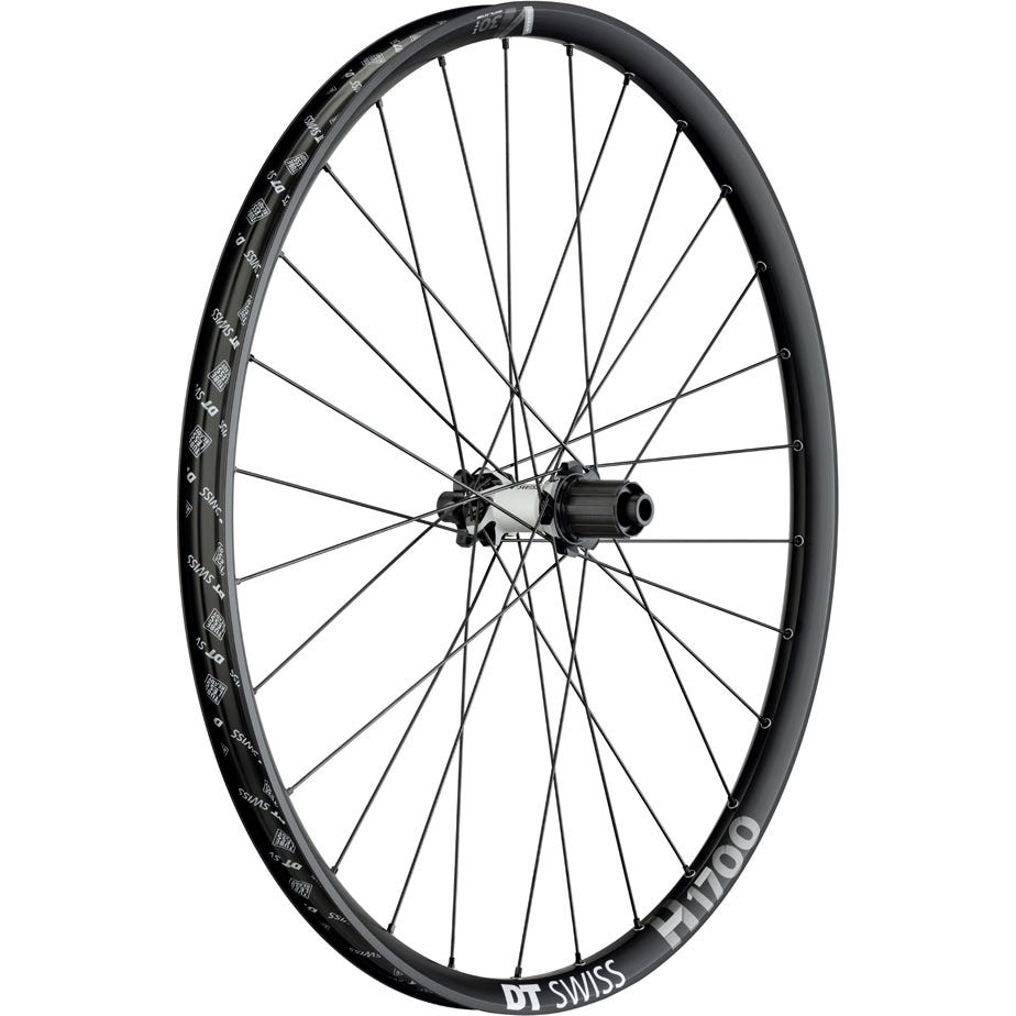 DT Swiss H 1700 Hybrid wheel, 30 mm rim, 12 x 148 mm BOOST axle , 27.5 inch rear