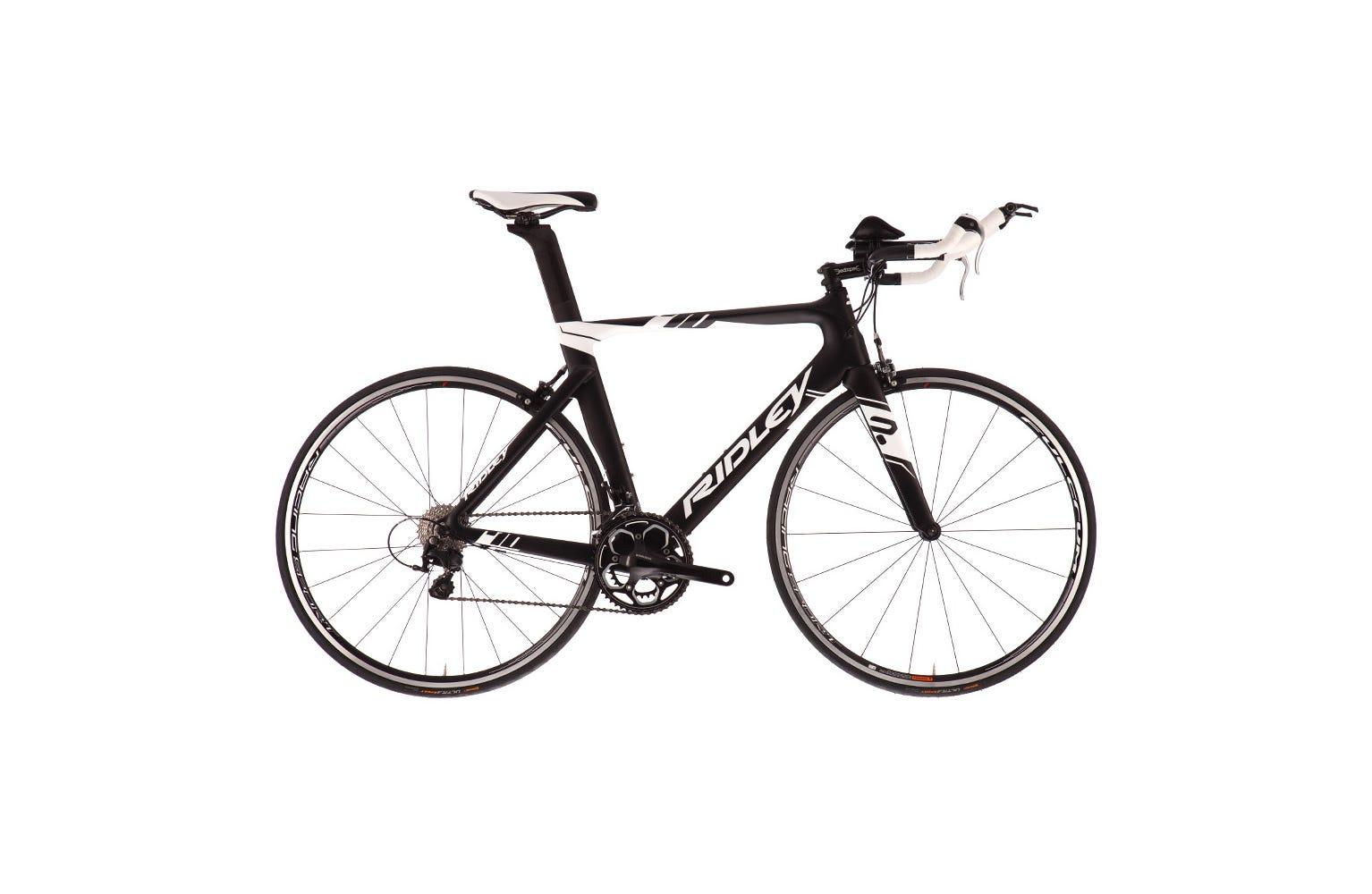 Ridley Chronus D- Black/White - MD bike w/105 Mix Ex Display