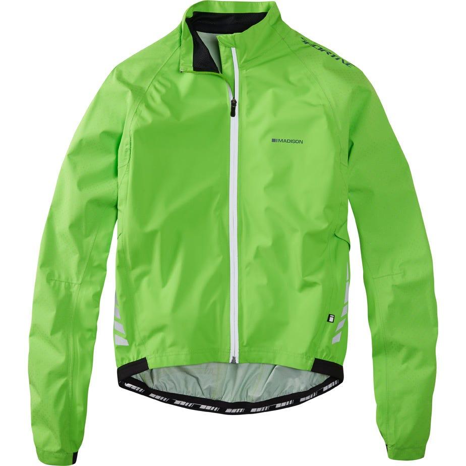 Madison Sportive Hi-Viz men's waterproof jacket