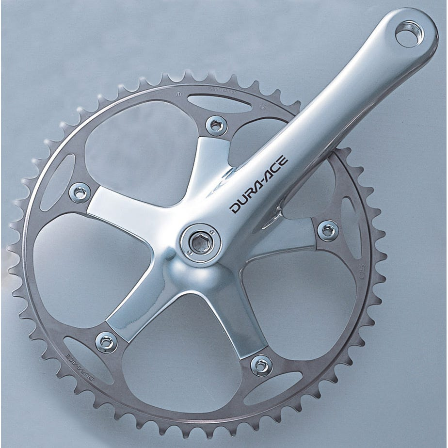 Shimano Dura-Ace FC-7710 Dura-Ace Track Crankset, Without Chainring