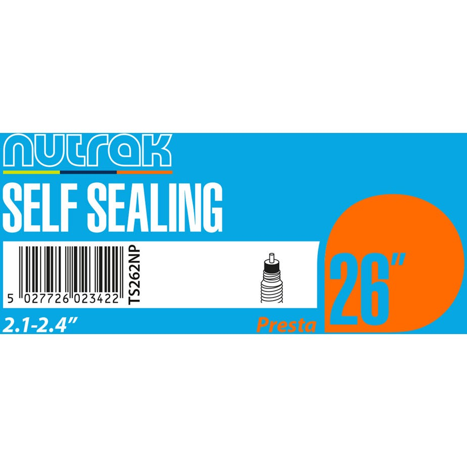 Nutrak 26 x 2.1 - 2.4 inch Presta - self-sealing inner tube