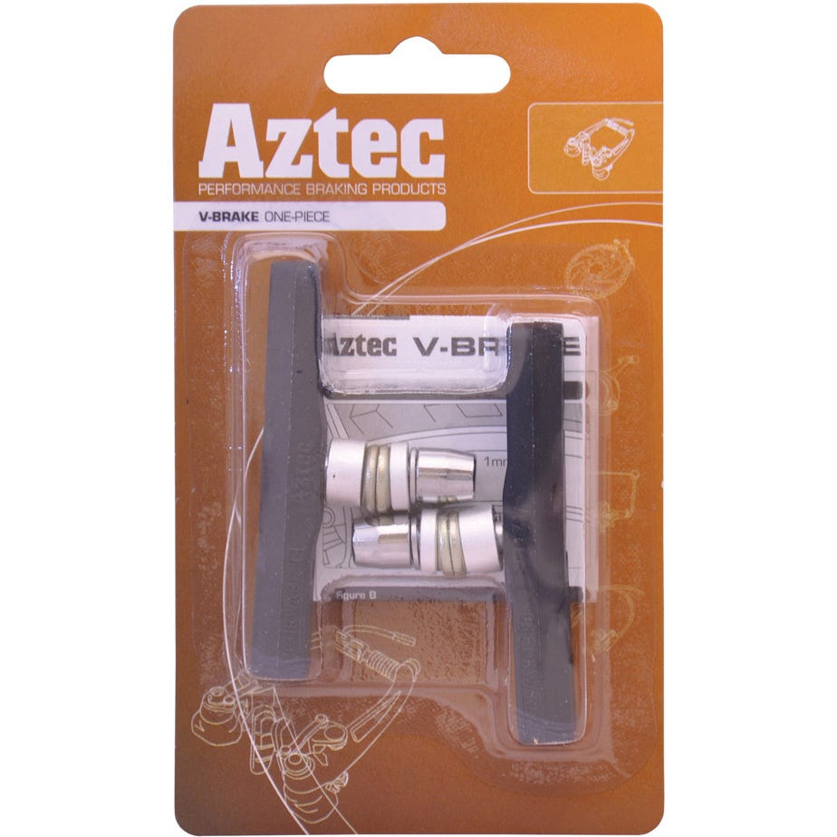 Aztec V-type one-piece brake blocks