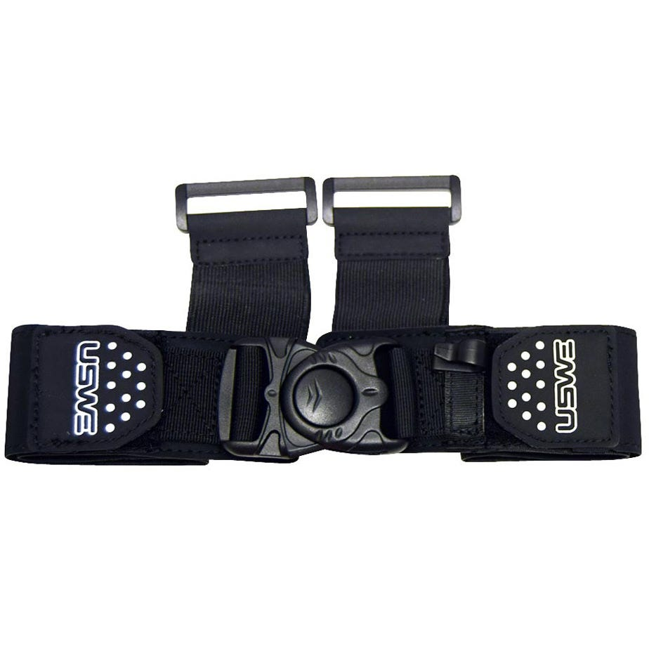 USWE Action Packs Harness Front Strap (XC + Moto) Adult One Size Black