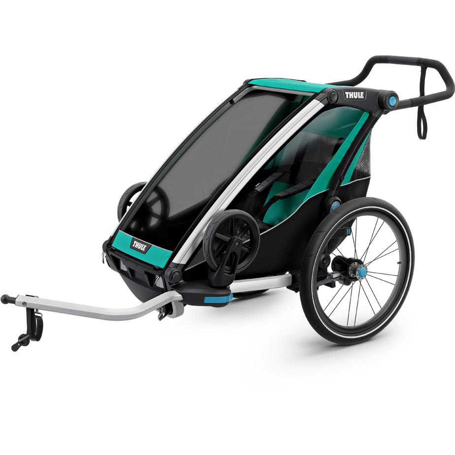 Thule Chariot Lite 1 U.K. certified child carrier with cycling and strolling kit