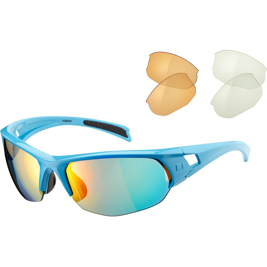 Madison Mission glasses 3 lens pack