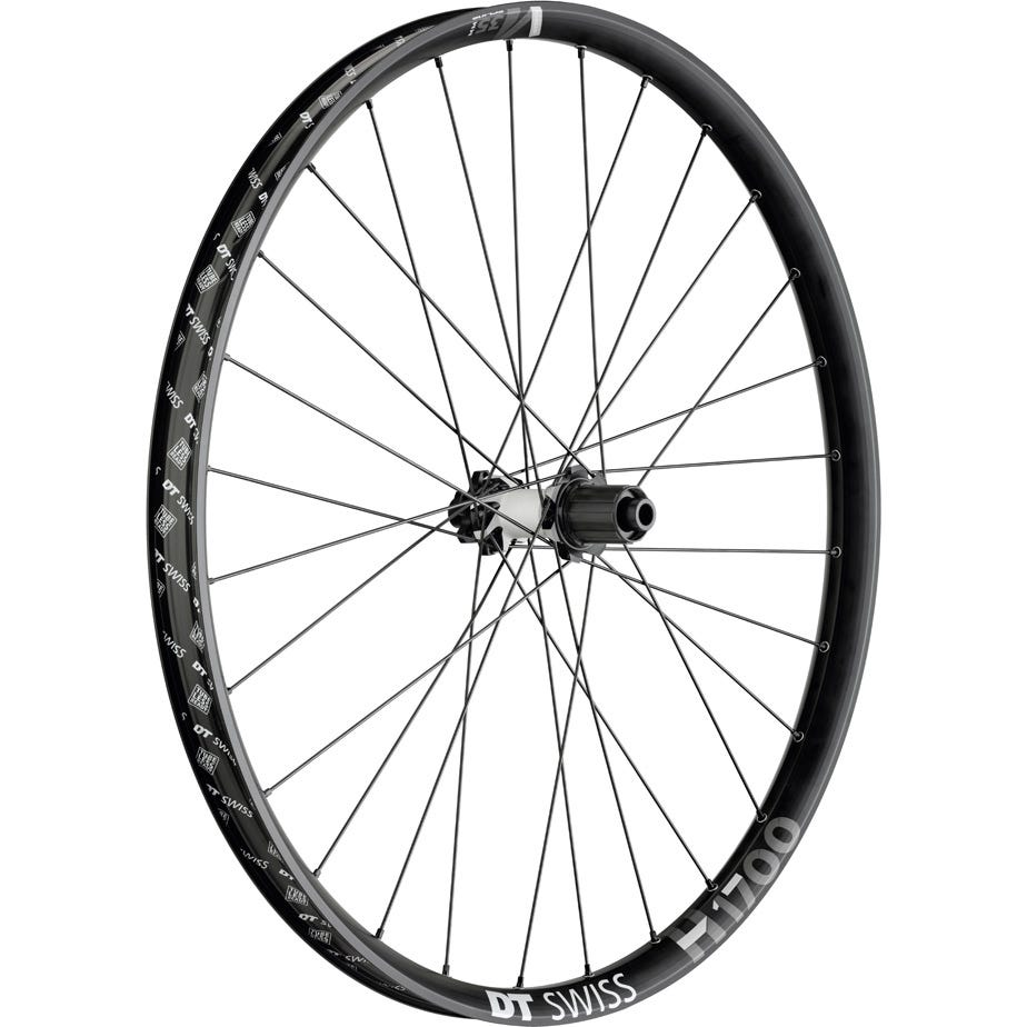 DT Swiss H 1700 Hybrid wheel, 35 mm rim, 12 x 148 mm BOOST axle , 27.5 inch rear
