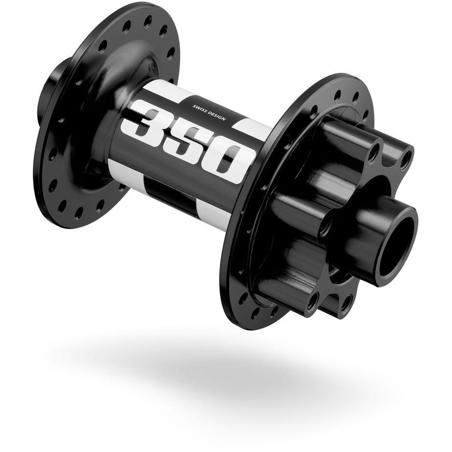 DT Swiss 350 front disc 6-bolt hub 28 hole Boost 110 / 20 mm black