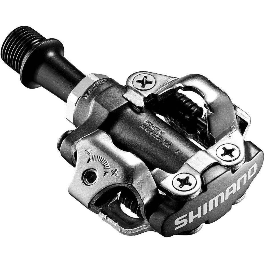 Shimano Pedals PD-M540 MTB SPD pedals - two sided mechanism, black