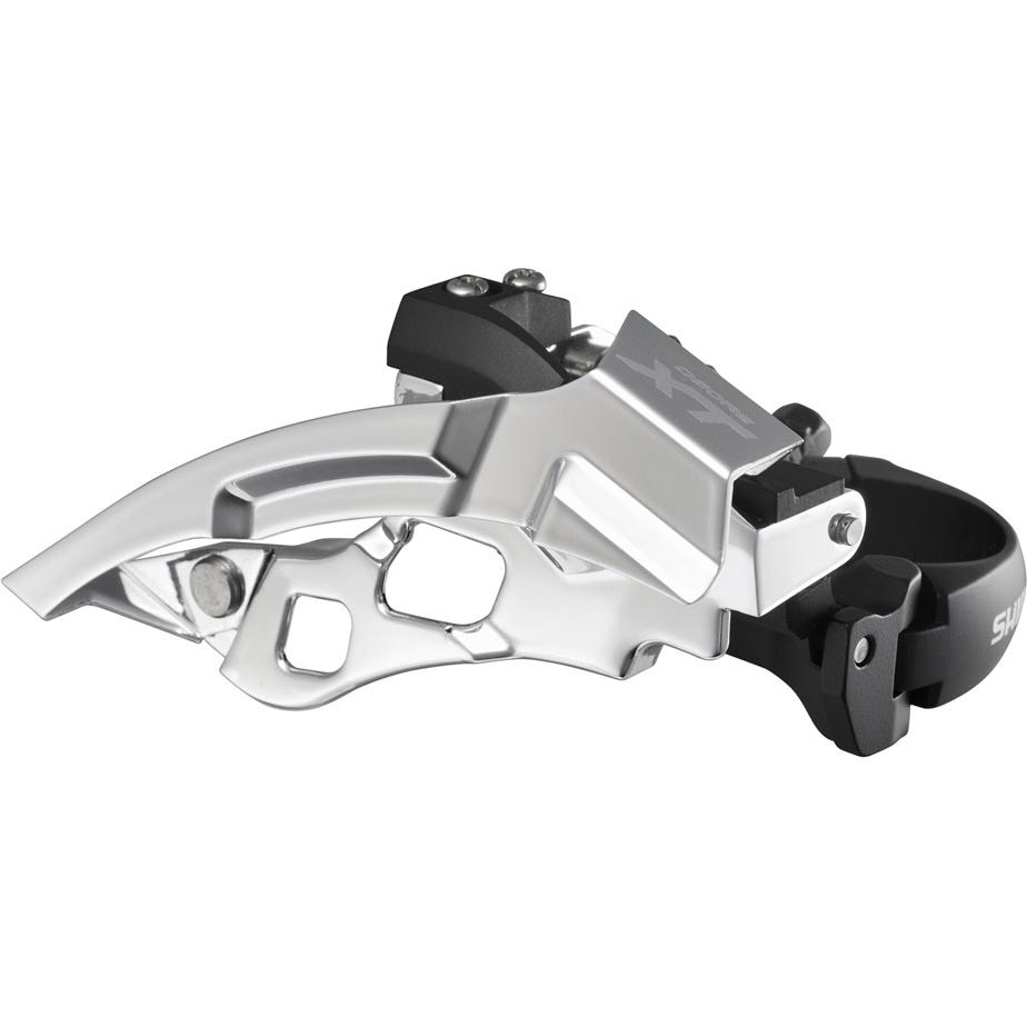 Shimano Deore XT FD-T780 XT 10-speed triple front derailleur for 66-69 deg, top swing