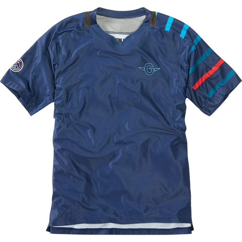 Madison Flux Enduro men's short sleeve jersey, Genesis Bicycle Club