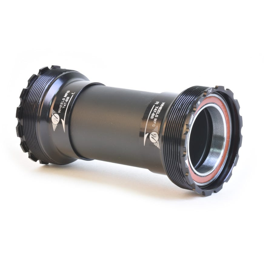 Wheels Manufacturing T47 Angular Contact BB fo 30mm Cranks - Black