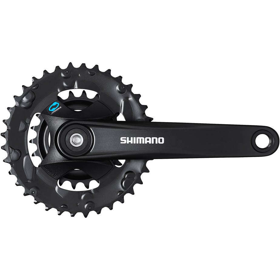Shimano Altus FC-M315 chainset 36/22, 7/8-speed, black, 170 mm, for boost, without chainguard