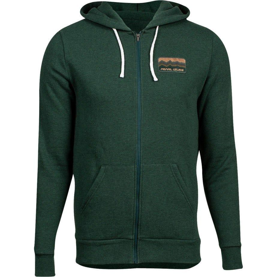 PEARL iZUMi Men's Fleece Zip-Up Hoody