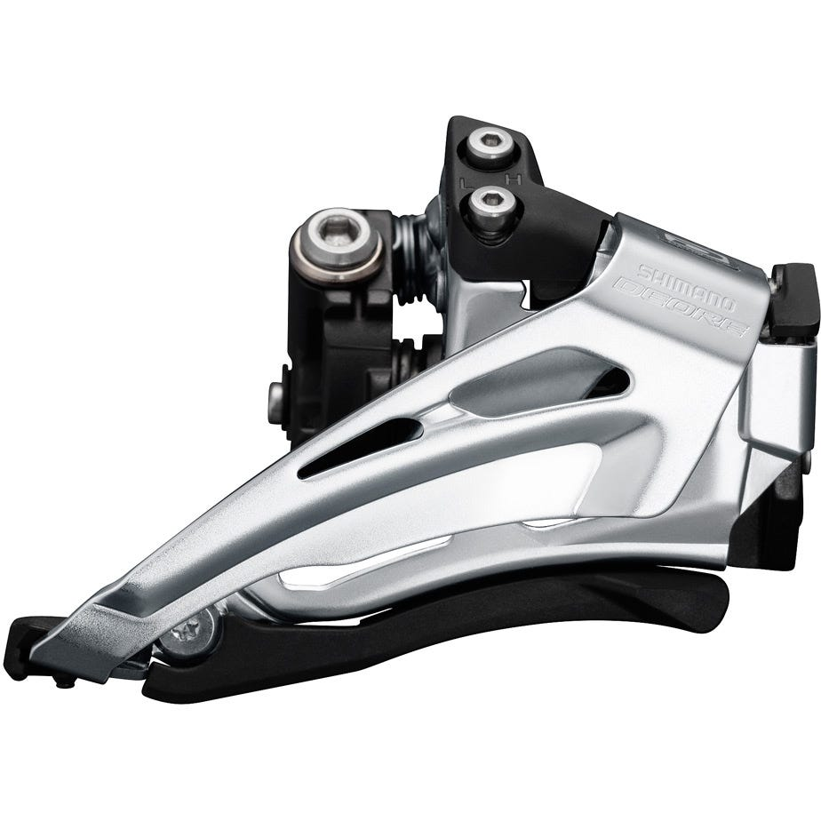 Shimano Deore Deore M6025-L double front derailleur, low clamp, top swing, down pull
