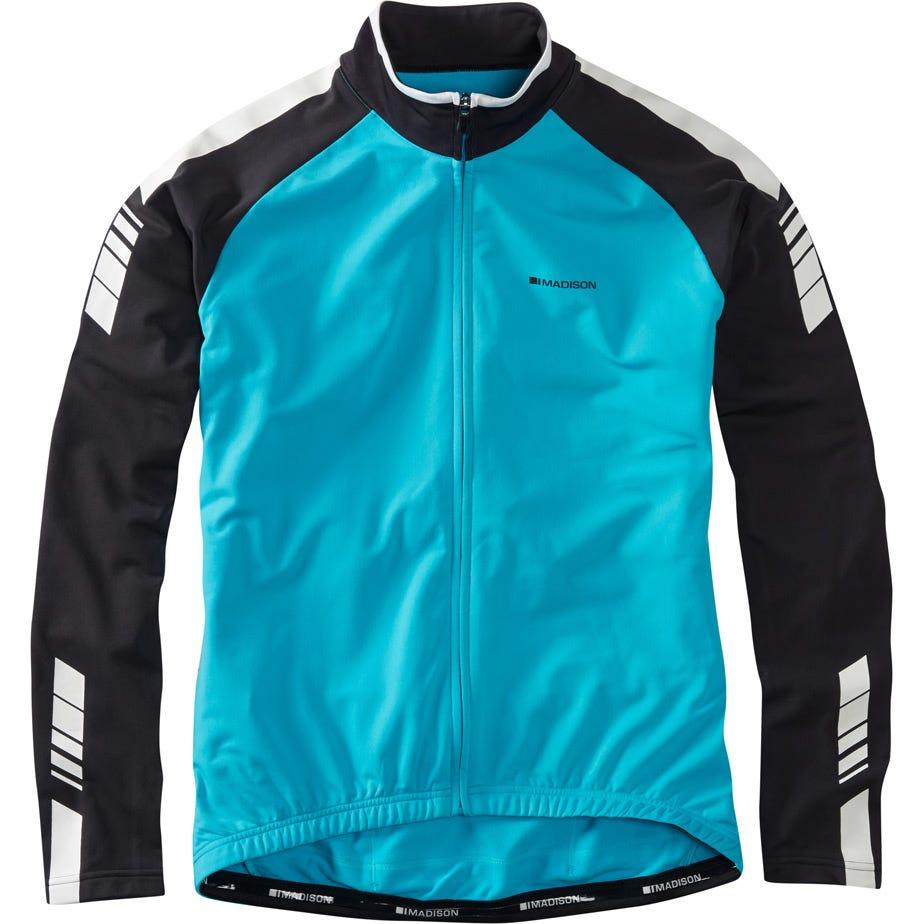 Madison Peloton men's long sleeve thermal roubaix jersey