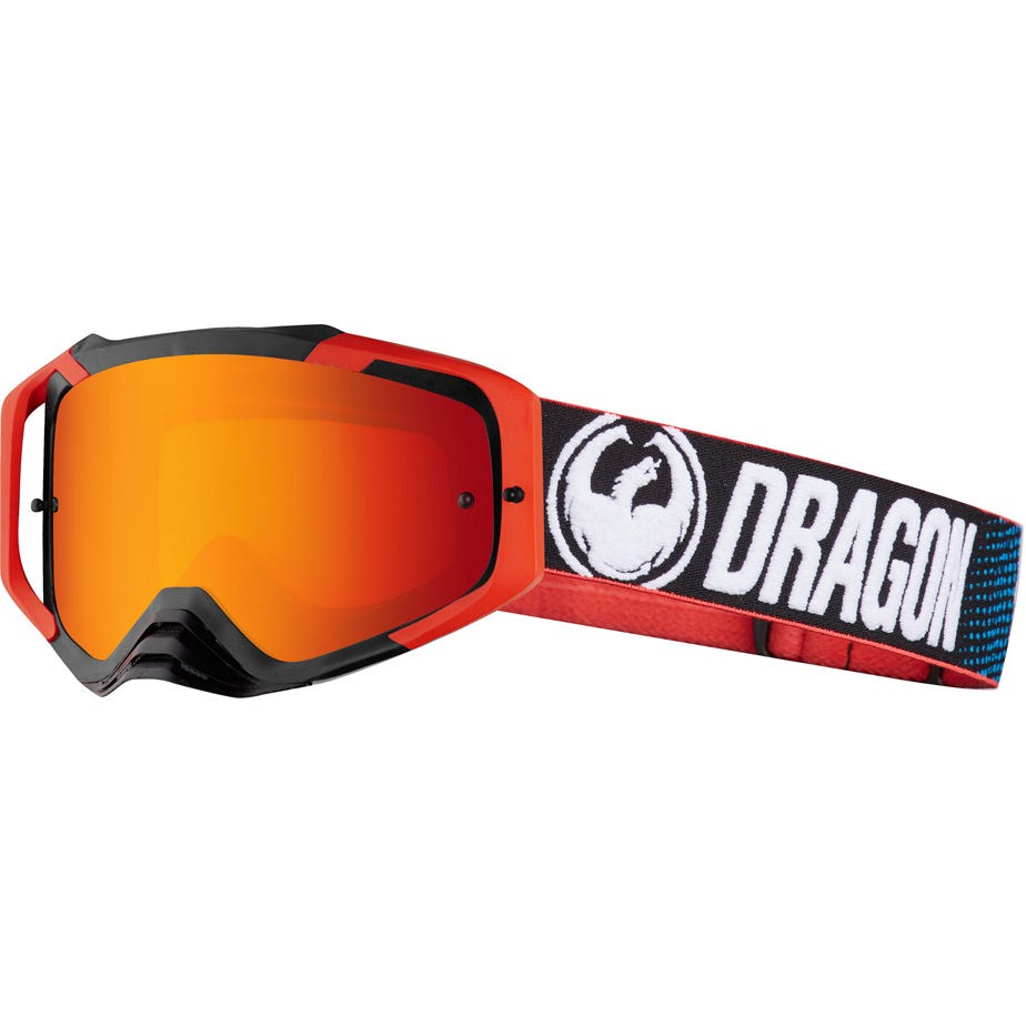 Dragon Goggles MXV MAX Factory / Red Ion