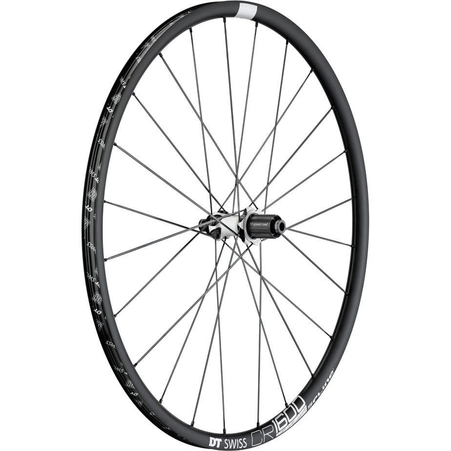 DT Swiss CR 1600 SPLINE disc brake wheel, clincher 23 x 22 mm, rear
