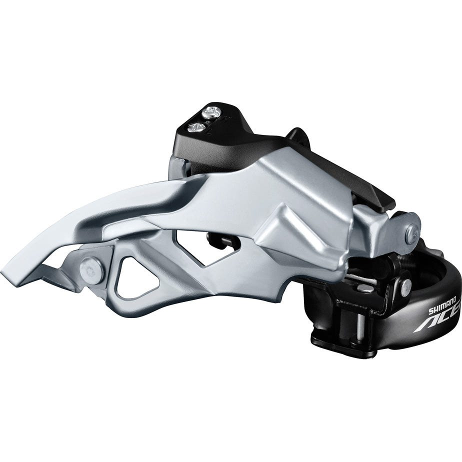 Shimano Acera FD-T3000-2 Acera front mech, 9-speed double, top swing, dual pull, multi fit