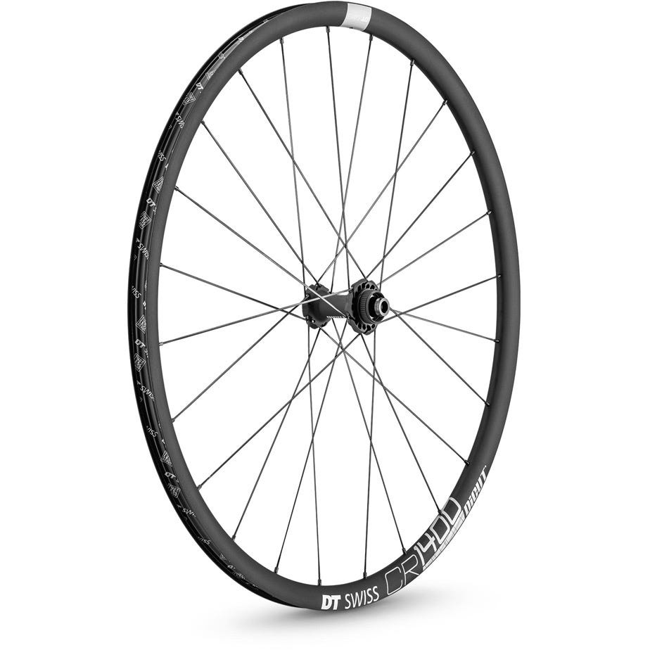 DT Swiss CR 1400 DICUT disc brake wheel, clincher 25 x 22 mm, front