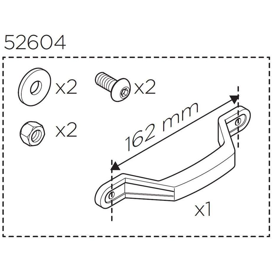 Thule RoundTrip Hard Handle Kit (Revised)