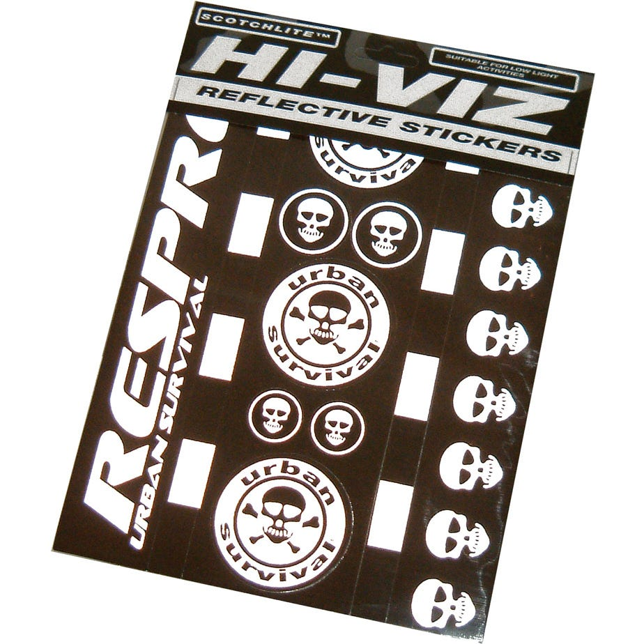 Hump Hi-Viz urban survival sticker kit