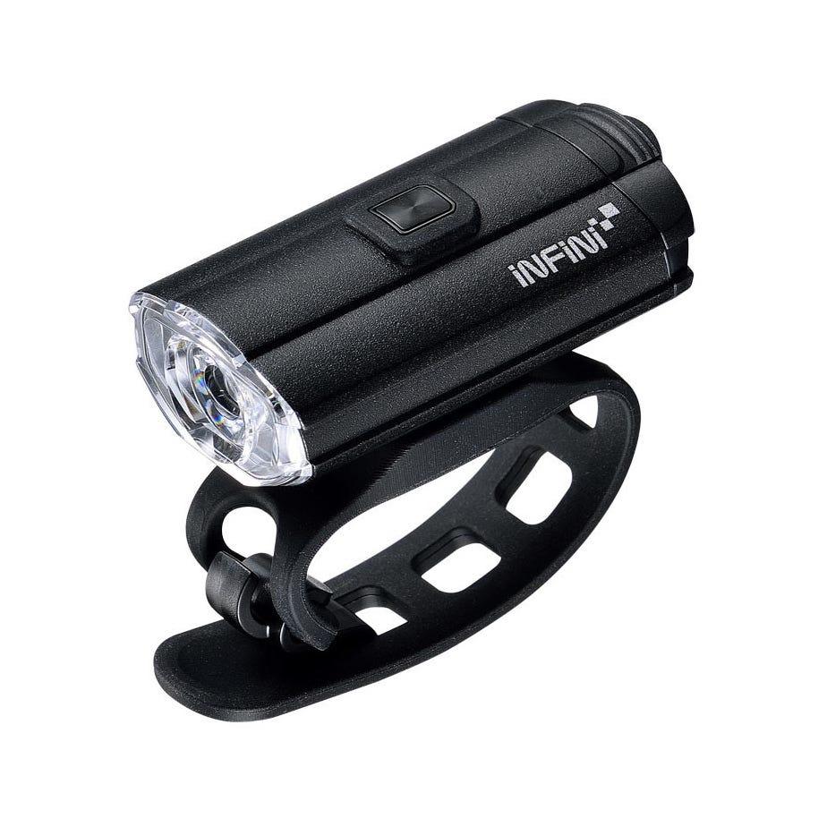 Infini Tron 100 USB front light, black