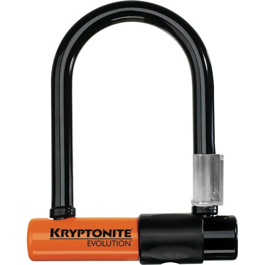 Kryptonite Evolution Mini-5 - with FlexFrame U bracket Sold Secure Silver