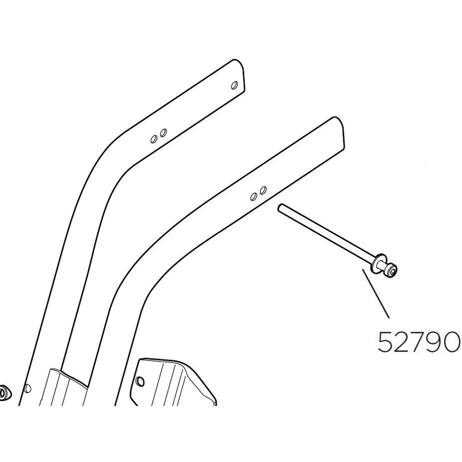 Thule Yepp Maxi long screw for seatpost mount