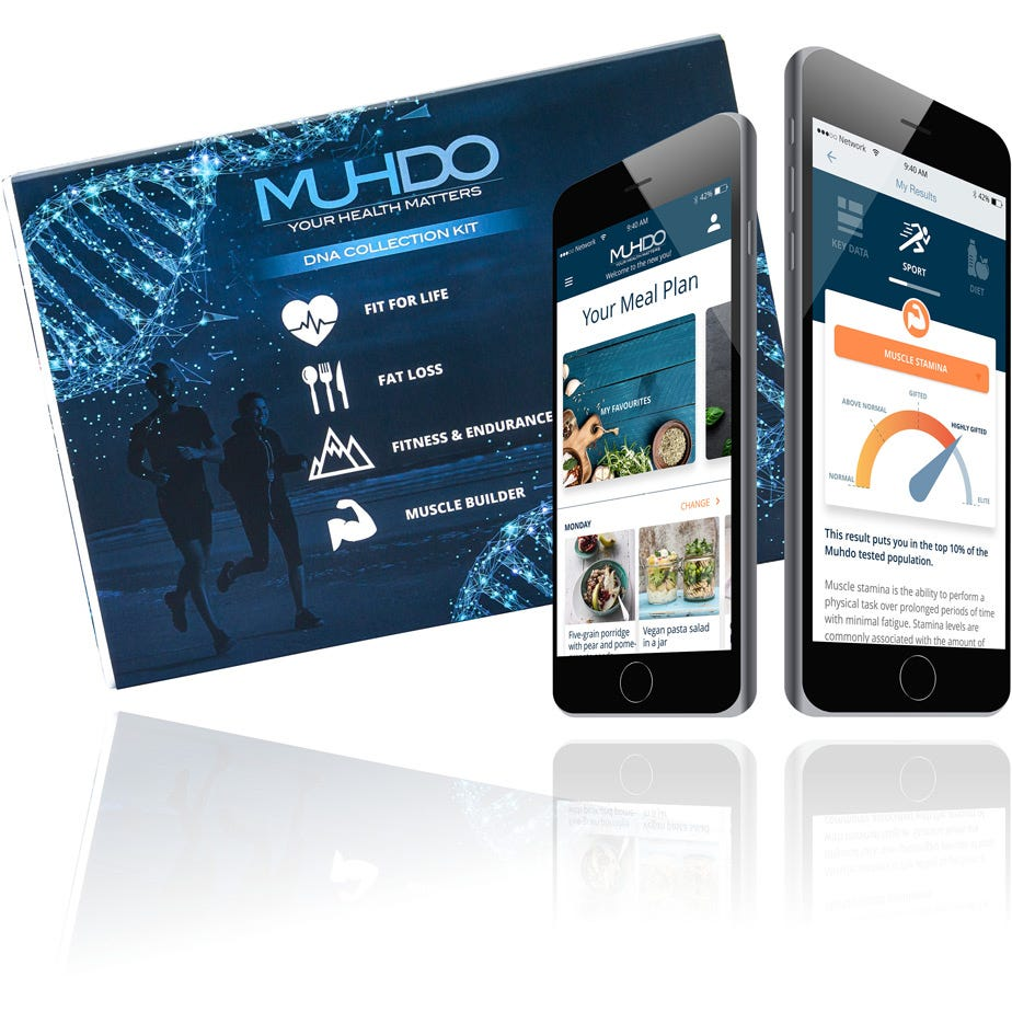 MUHDO Human DNA Sports Profiling Kit