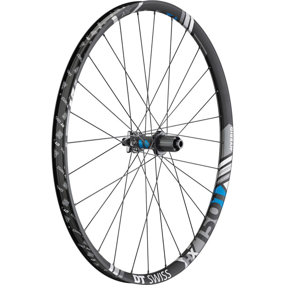 DT Swiss HX 1501 Hybrid wheel, 30 mm rim, 12 x 148 mm BOOST axle, 27.5 inch rear