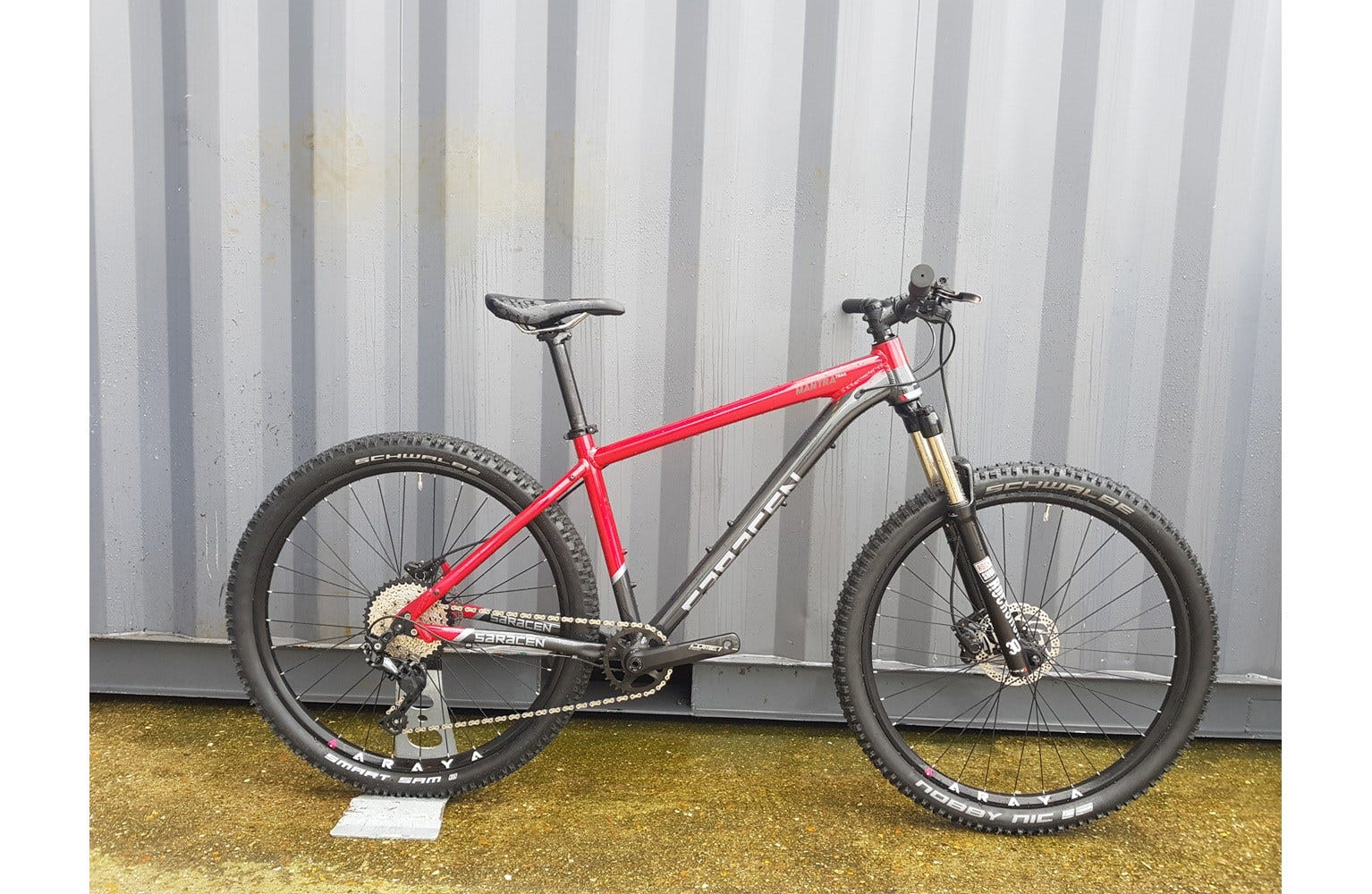 "Saracen Mantra Trail 17"" Ex Brand Sample Bike"