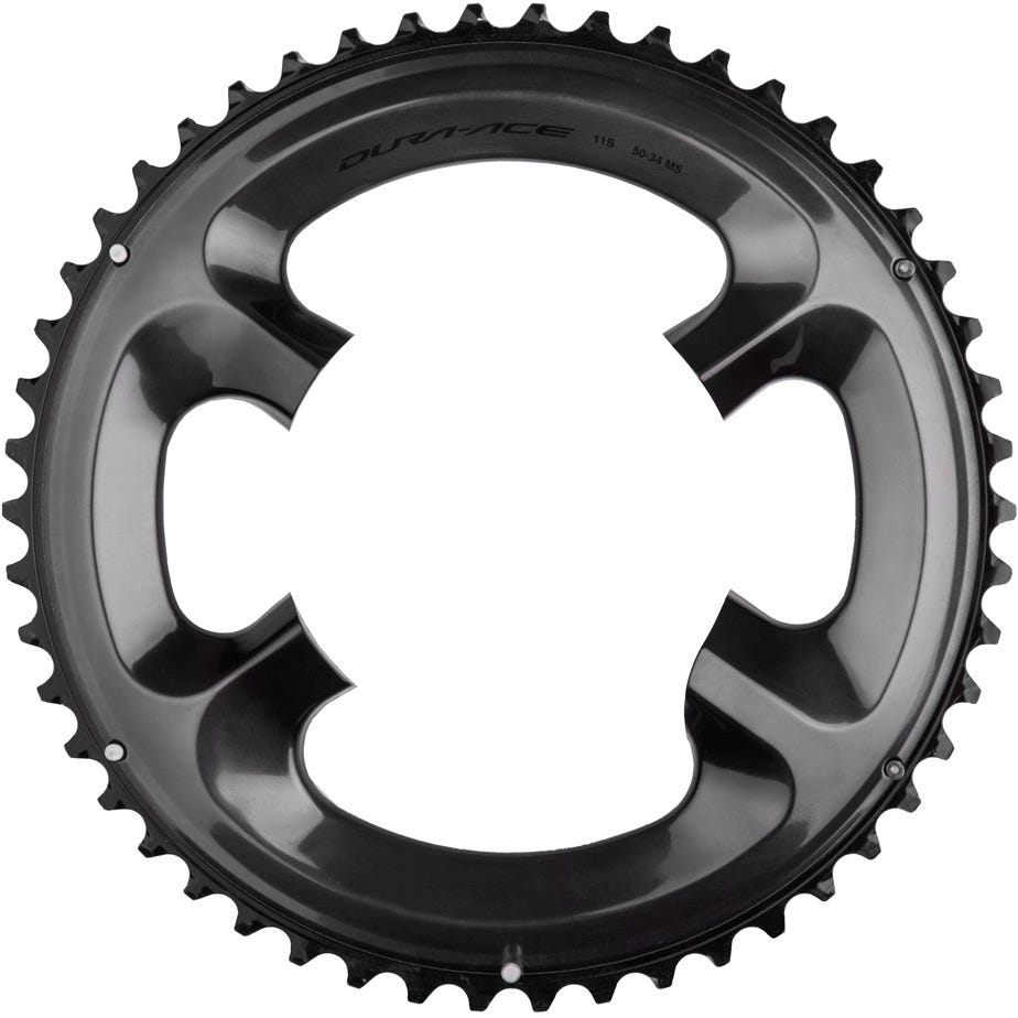 Shimano Spares FC-R9100 Chainring 53T-MW for 53-39T