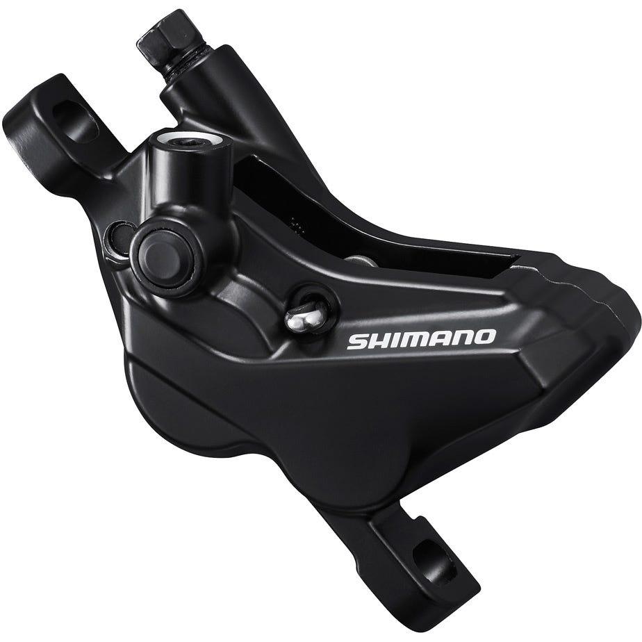Shimano Acera BR-MT420 4-piston calliper, post mount, front or rear, black