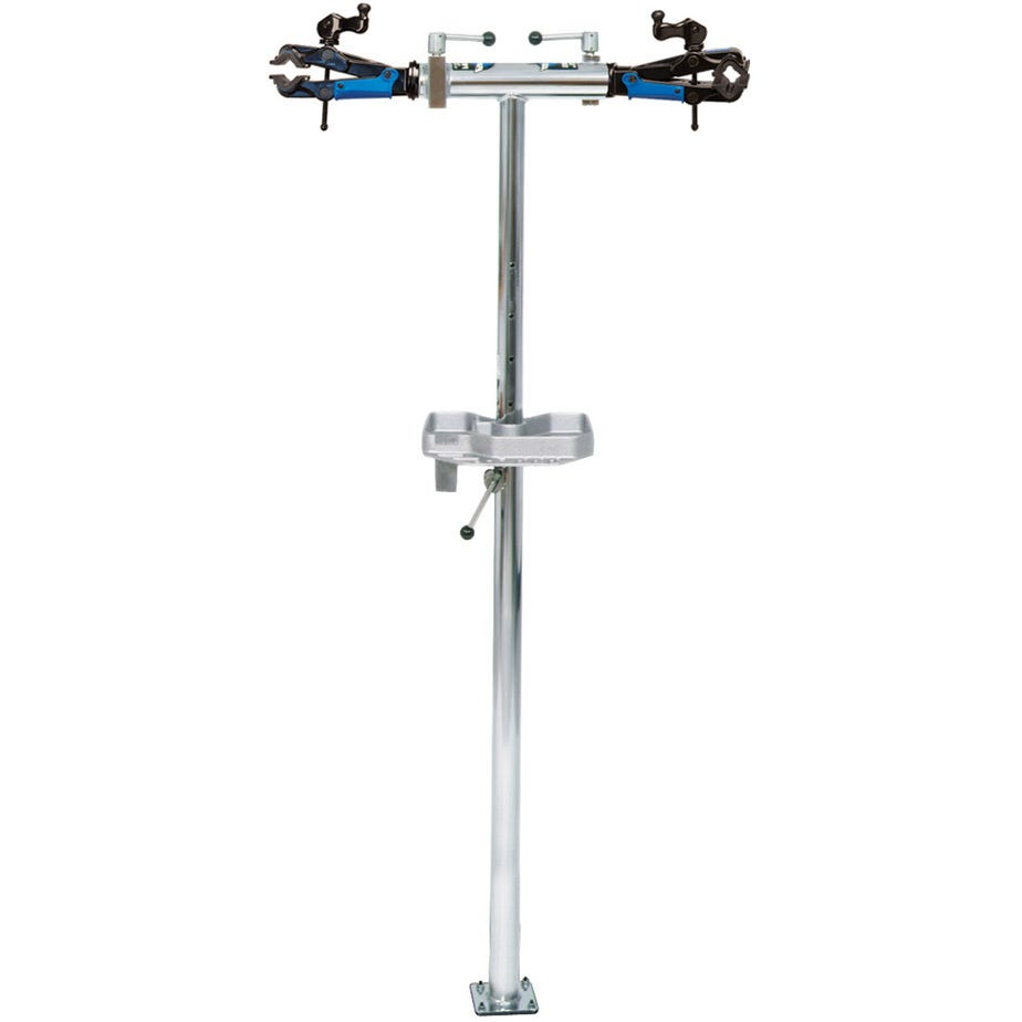 Park Tool PRS-2.2-2 - Deluxe Double Arm Repair Stand (With 100-3D Micro Adjust Clamps) Les