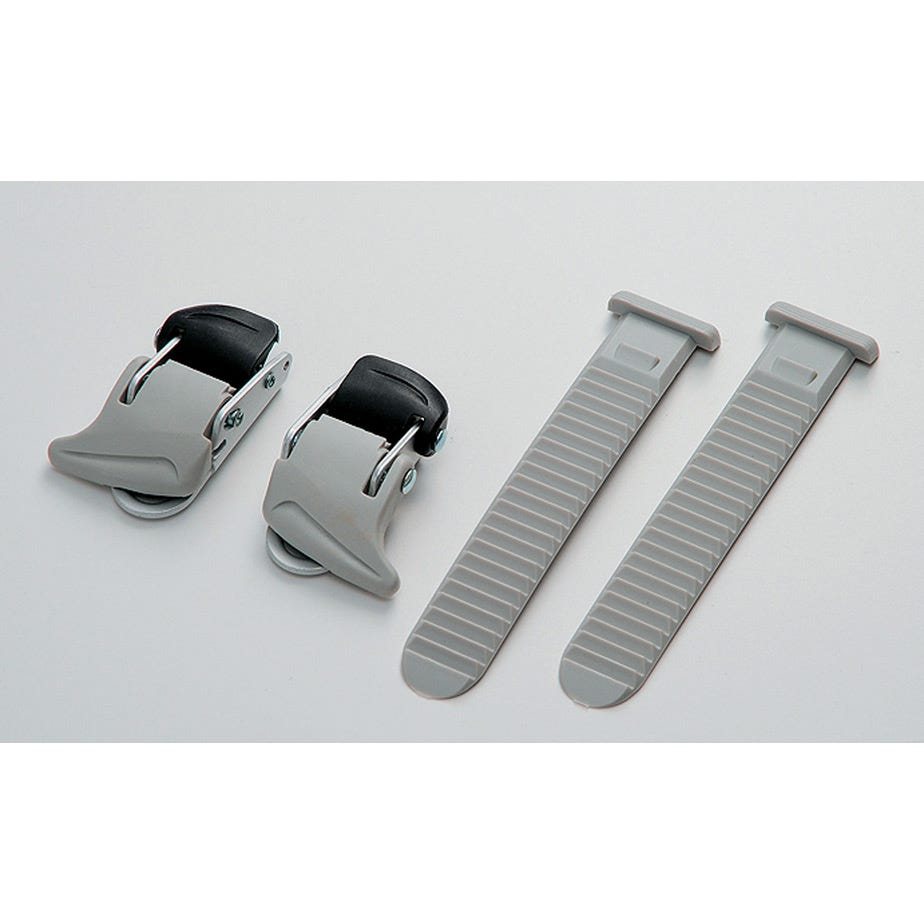 Shimano Spares Universal small buckle and strap set, grey