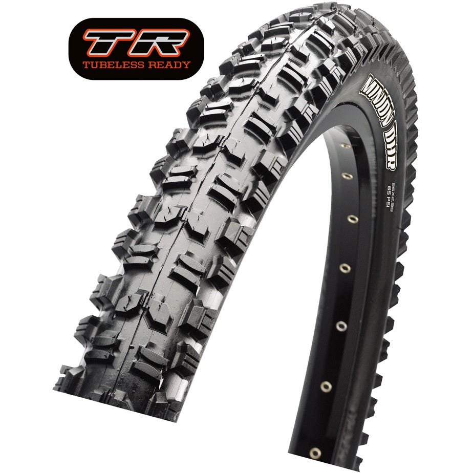 Maxxis Minion DHR II Dual Compound TR Tyre