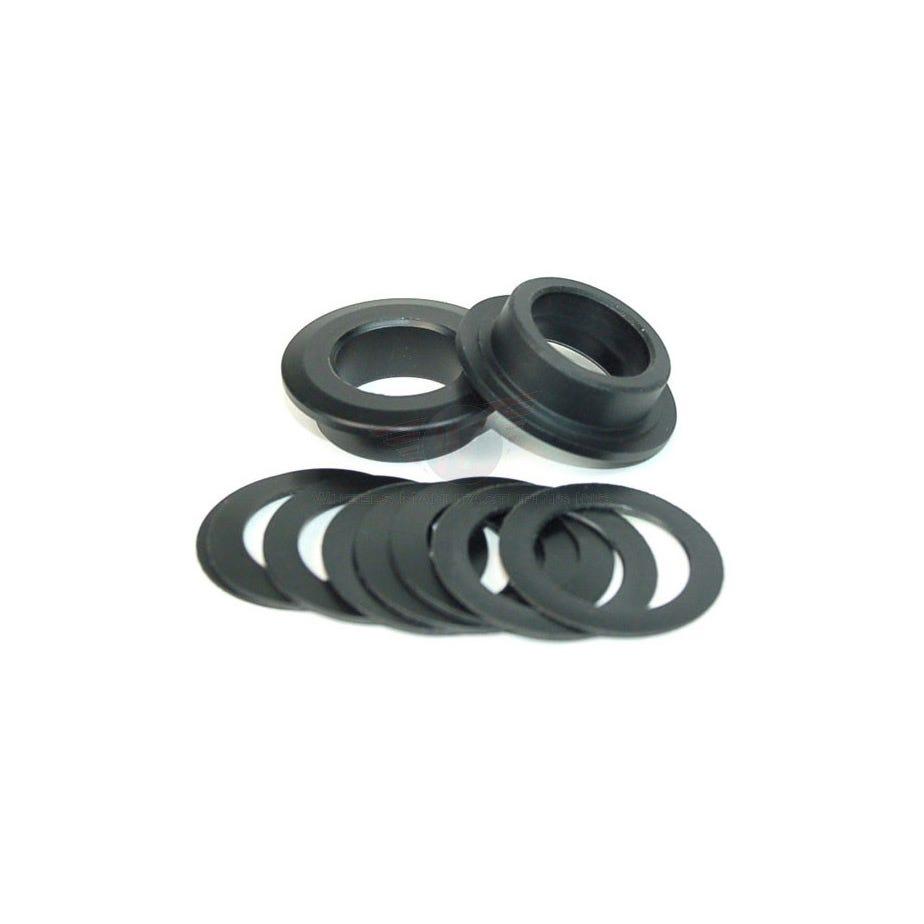 Wheels Manufacturing 386Evo to Shimano crank axle shims